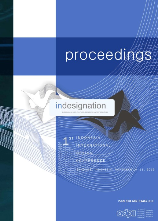 INDESIGNATION 2016 - PROCEEDINGS